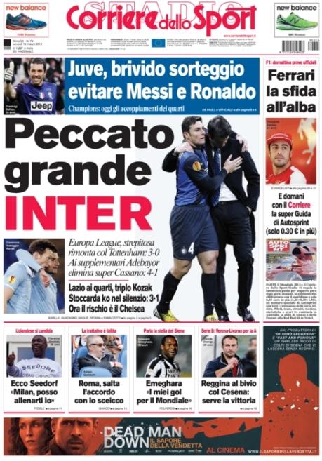 Corriere dello Sport 150313
