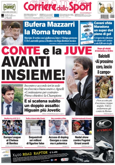 Corriere dello Sport 160513