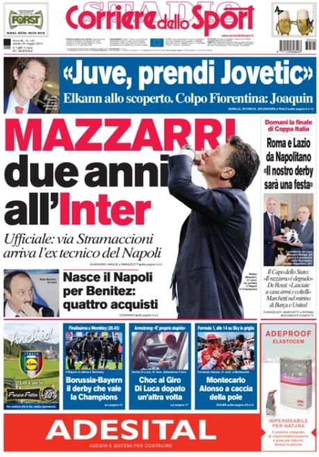 Corriere dello Sport 250513
