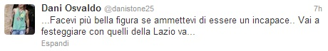 Osvaldo Twitter