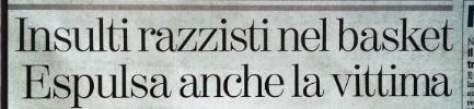 Razzismo Cus Torino