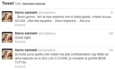 Balotelli Twitter Nazionale