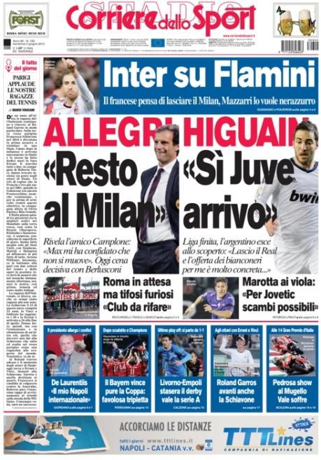 Corriere dello Sport 020613