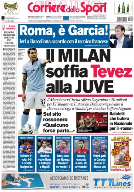 Corriere dello Sport 090613