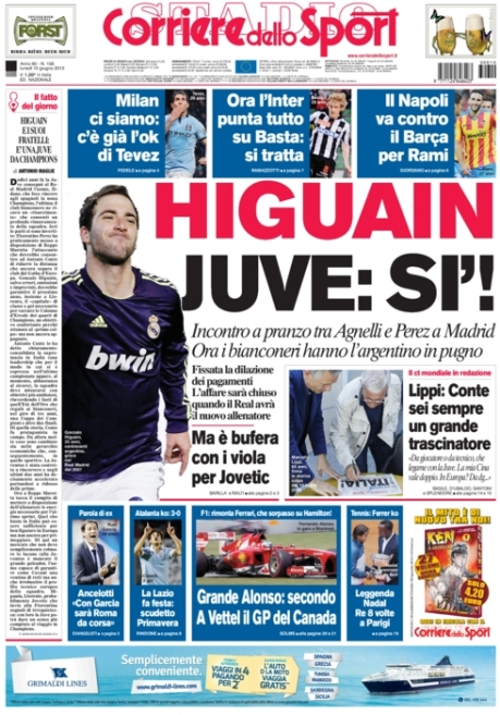 Corriere dello Sport 100613