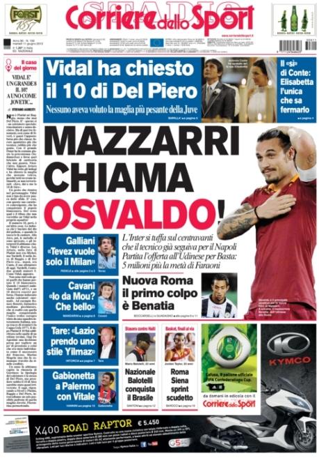 Corriere dello Sport 110613