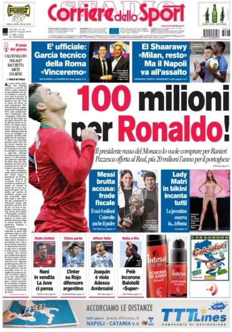 Corriere dello Sport 130613