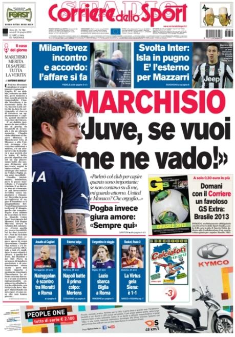 Corriere dello Sport 140613