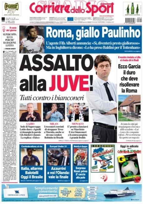 Corriere dello Sport 150613