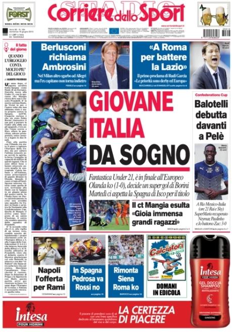 Corriere dello Sport 160613