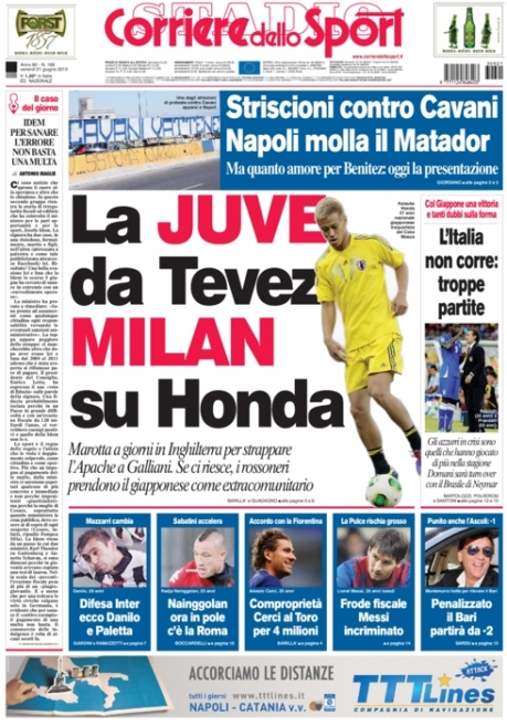 Corriere dello Sport 210613