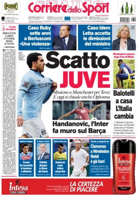 Corriere dello Sport 250613