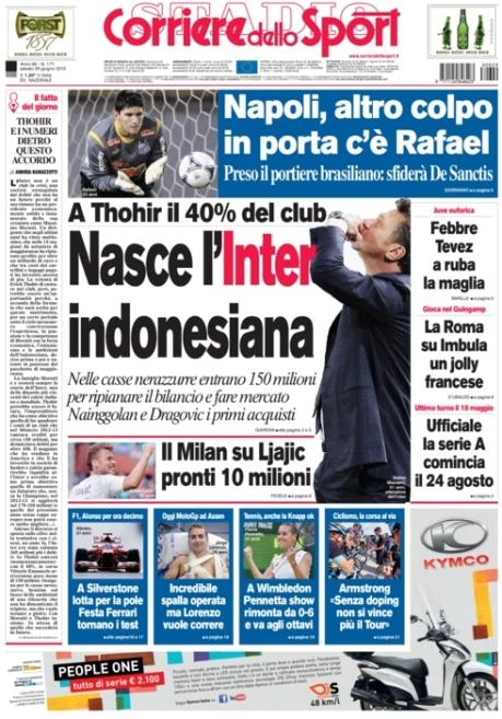 Corriere dello Sport 290613