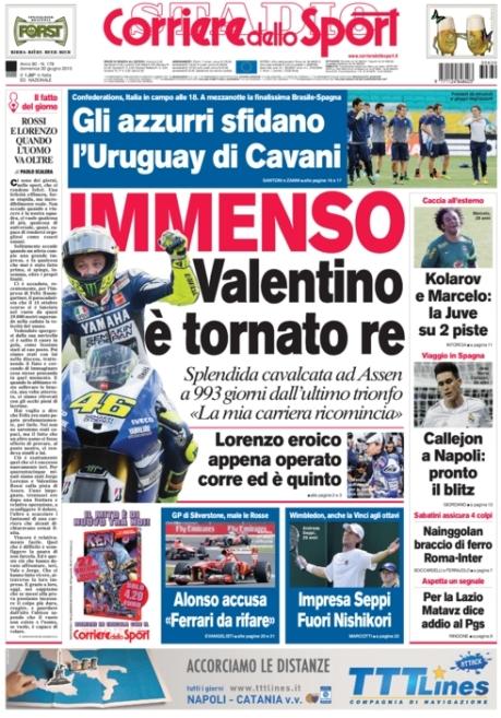 Corriere dello Sport 300613