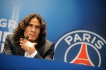 New Paris Saint-Germain Forward Edinson Cavani Attends Press Conference