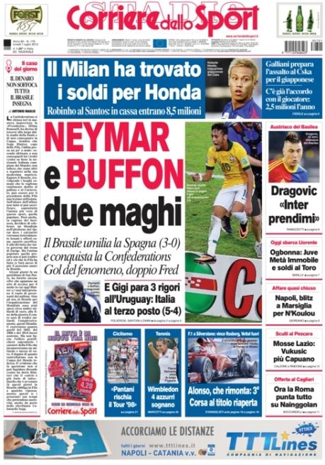 Corriere dello Sport 010713