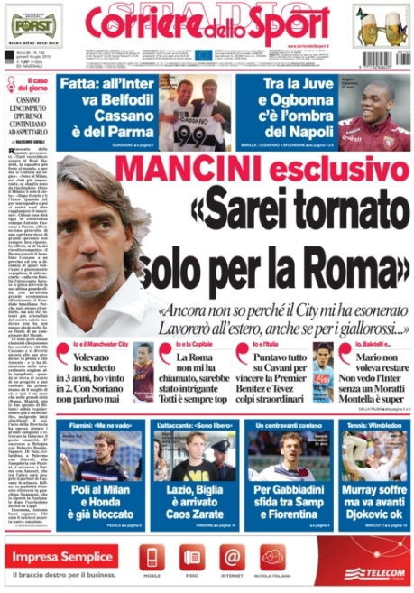 Corriere dello Sport 040713
