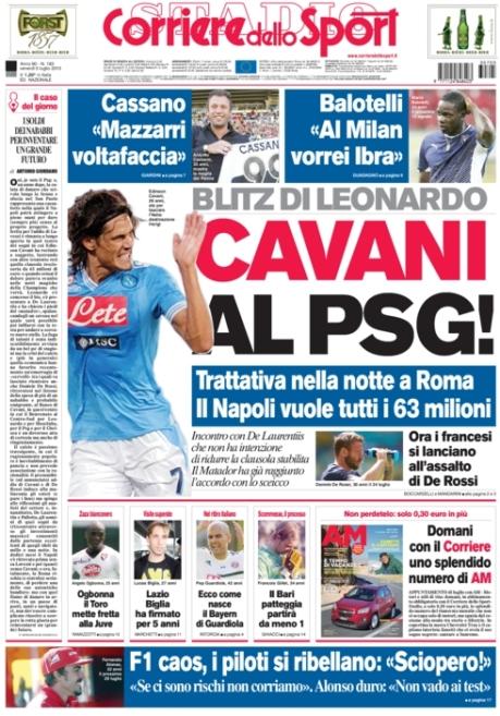Corriere dello Sport 050713