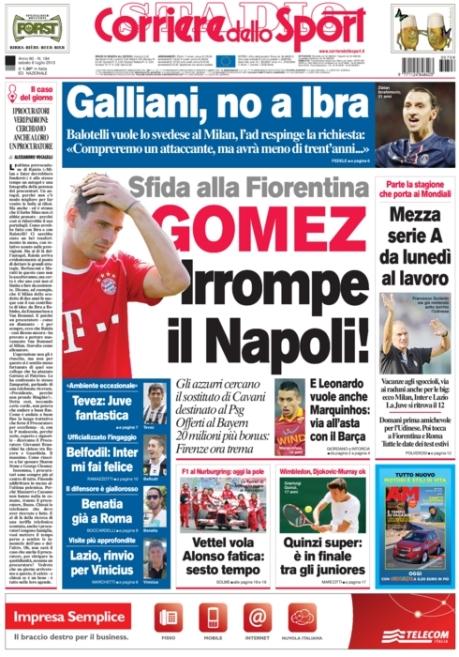 Corriere dello Sport 060713