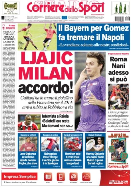 Corriere dello Sport 070713