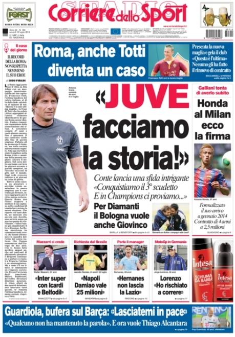 Corriere dello Sport 120713