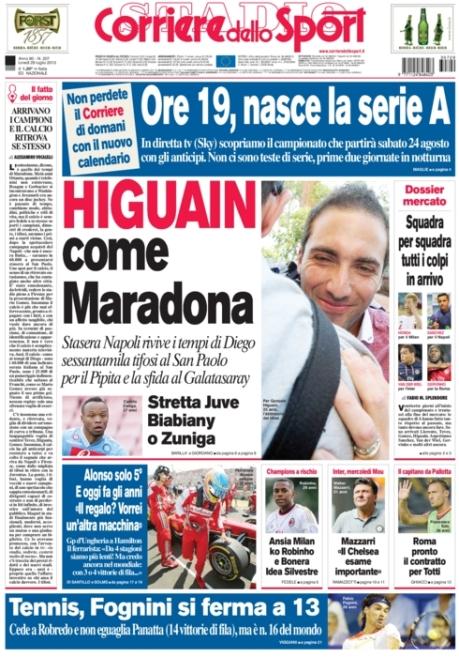 Corriere dello Sport 290713