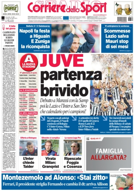 Corriere dello Sport 300713