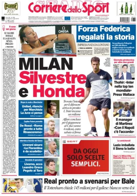 Corriere dello Sport 310713