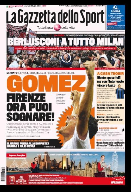 Gazzetta 090713