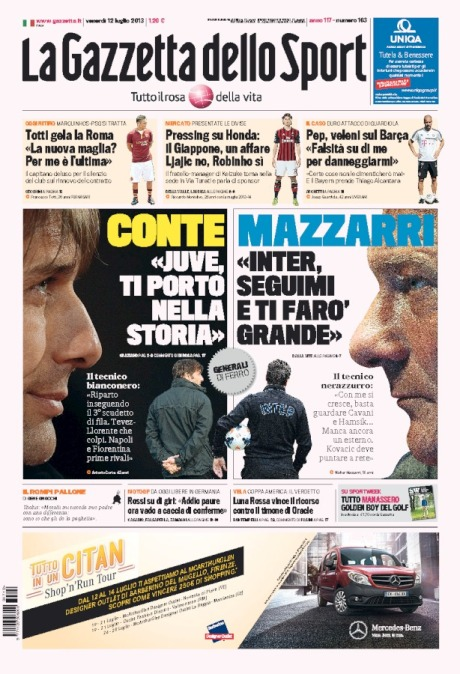 Gazzetta 120713