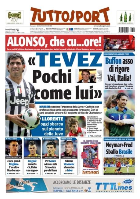 Tuttosport 010713