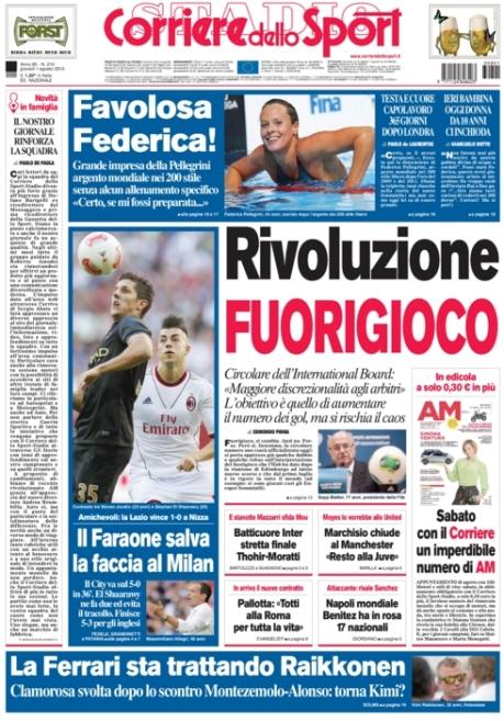 Corriere dello Sport 010813