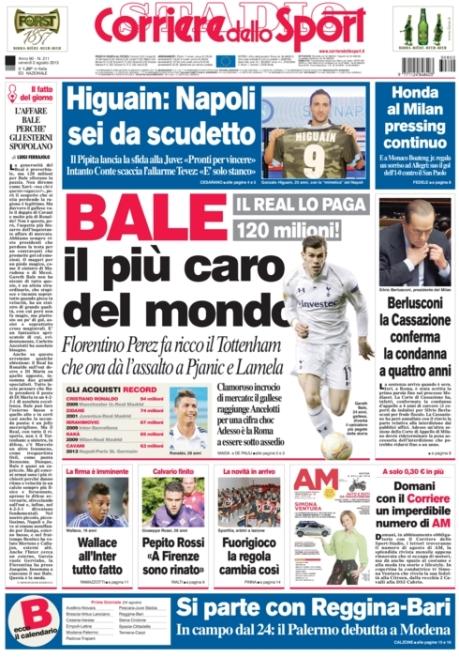 Corriere dello Sport 020813
