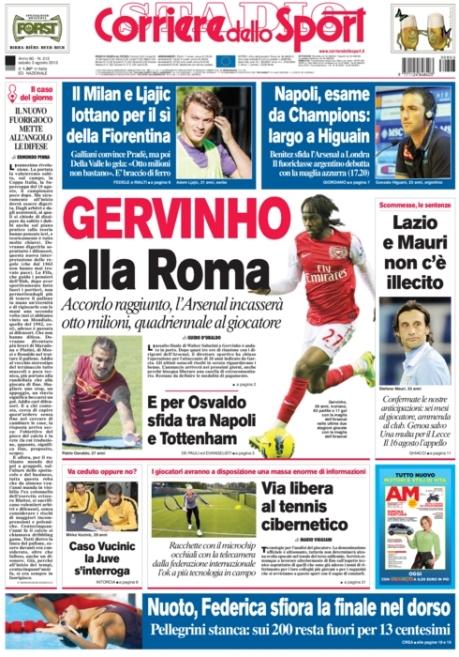 Corriere dello Sport 030813
