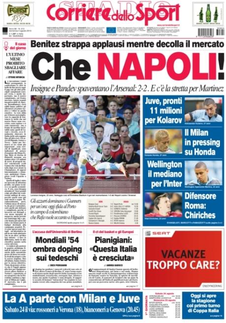 Corriere dello Sport 040813