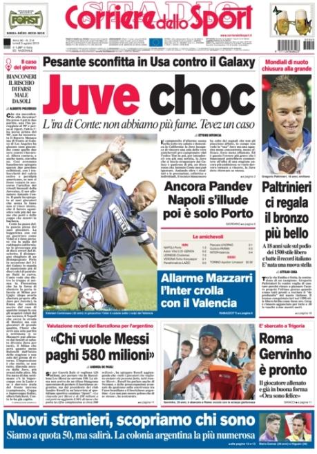 Corriere dello Sport 050813
