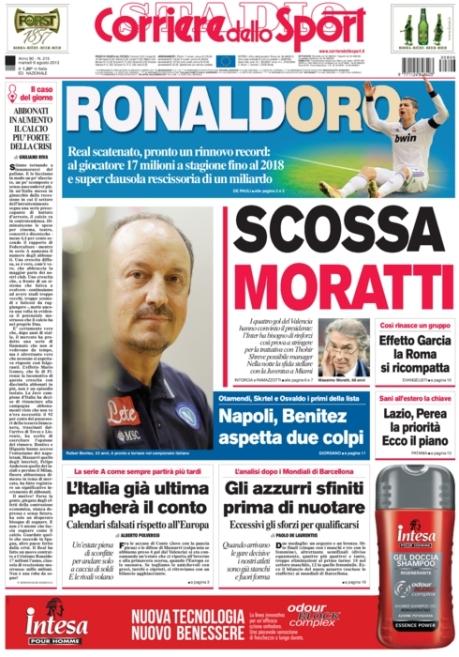 Corriere dello Sport 060813