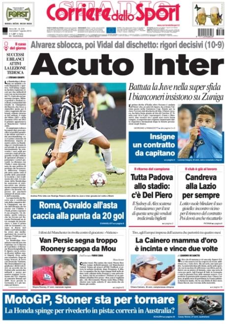 Corriere dello Sport 070813