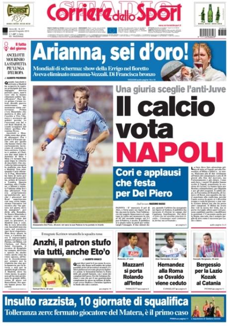 Corriere dello Sport 080813