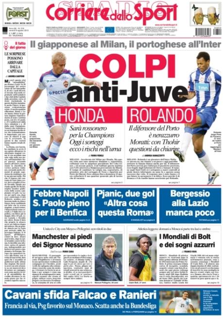 Corriere dello Sport 090813