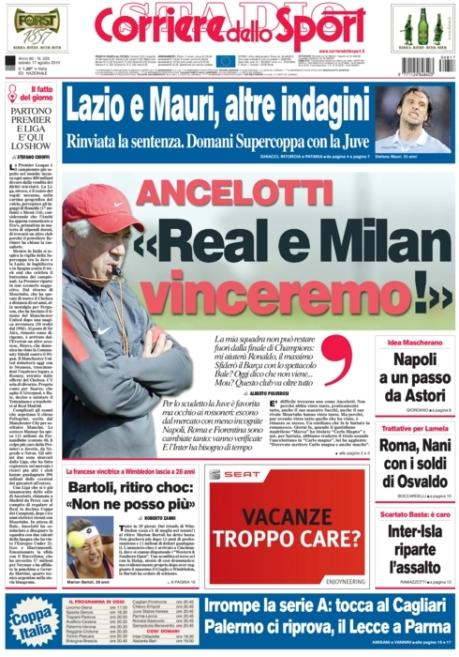Corriere dello Sport 170813