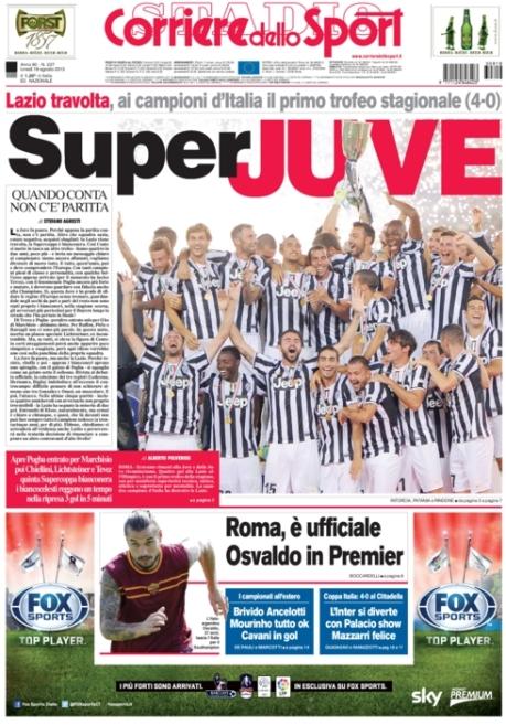 Corriere dello Sport 190813