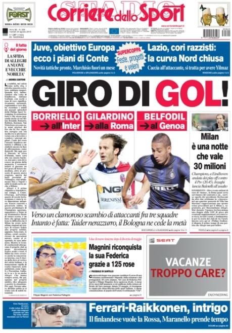 Corriere dello Sport 200813