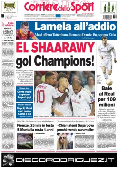 Corriere dello Sport 210813