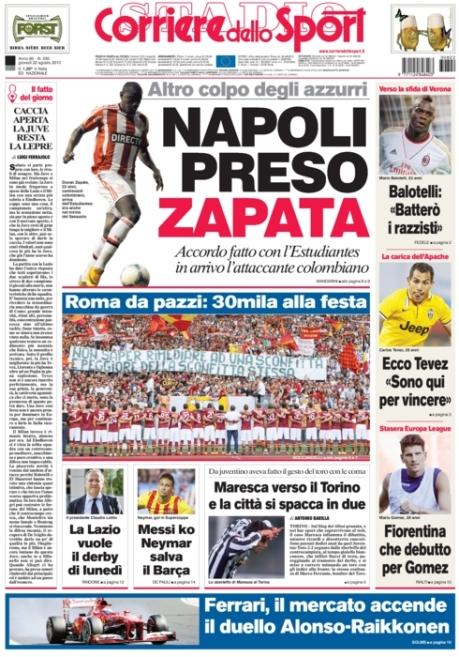 Corriere dello Sport 220813