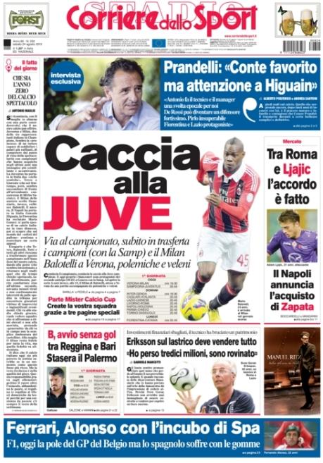 Corriere dello Sport 240813