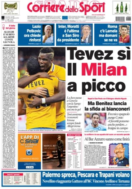 Corriere dello Sport 250813
