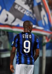 Inter Milan's Cameroonian forward Samuel