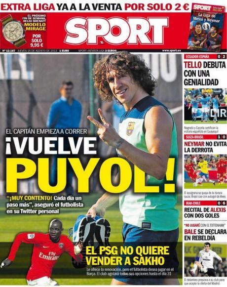 Sport 150813