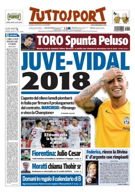 Tuttosport 010813